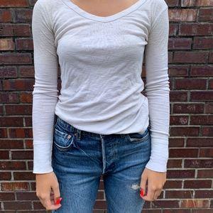 CYNTHIA ROWLEY White Long Sleeve